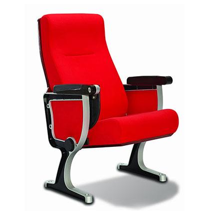 JY-6089铝合金木板礼堂椅